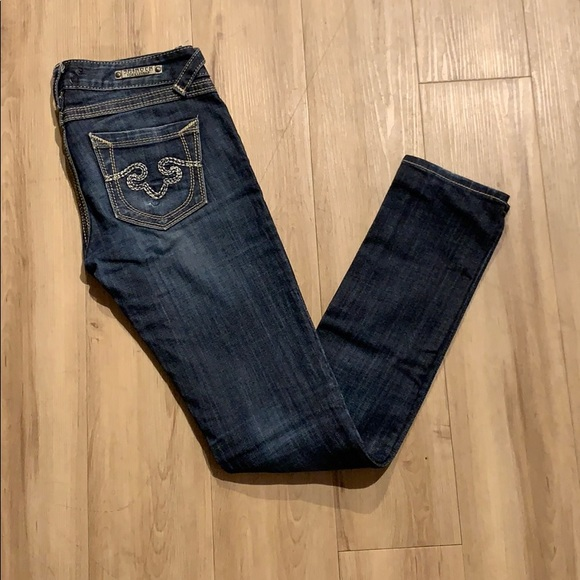 Express Denim - ReRock for Express - skinny leg - 2R